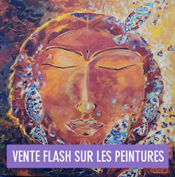 Vente flash sur les peintures